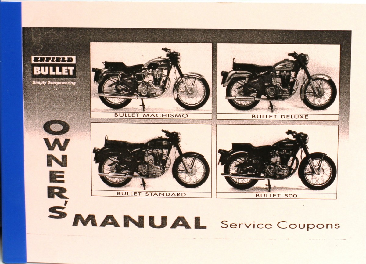 Bullet workshop manual array books and posters rh accessories hitchcocksmotorcycles fandeluxe Images
