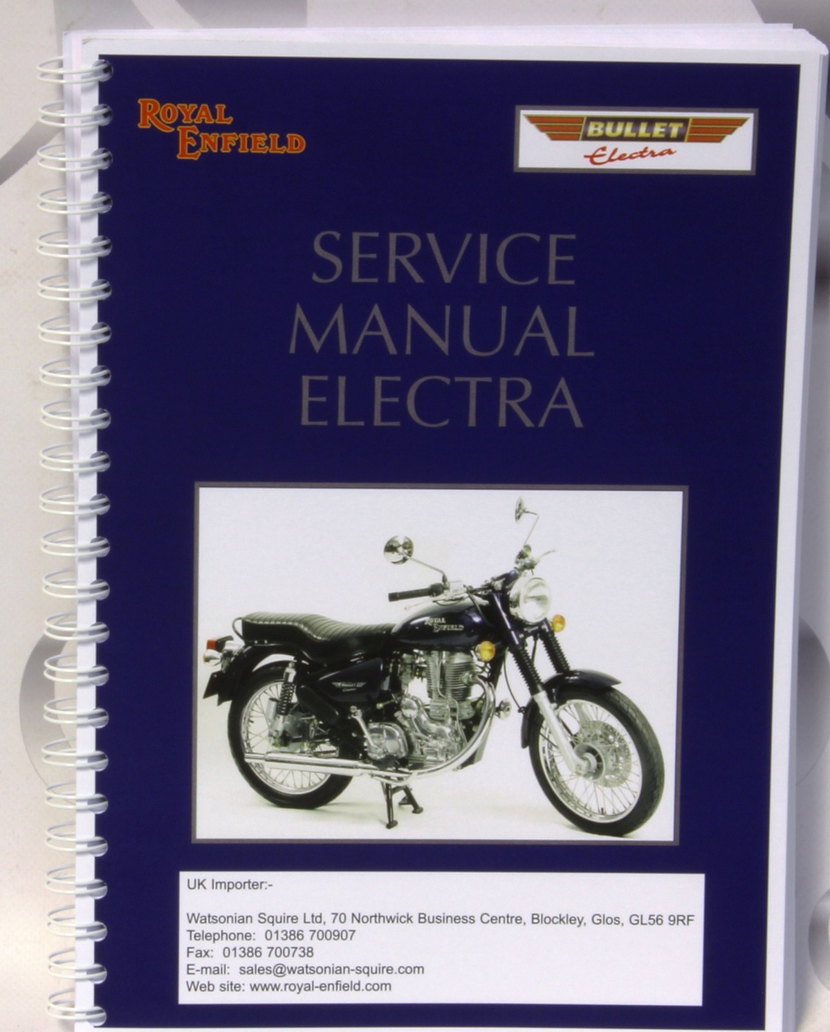 ROYAL ENFIELD CONTINENTAL GT 535CC WORKSHOP SERVICE REPAIR /& OWNERS MANUAL