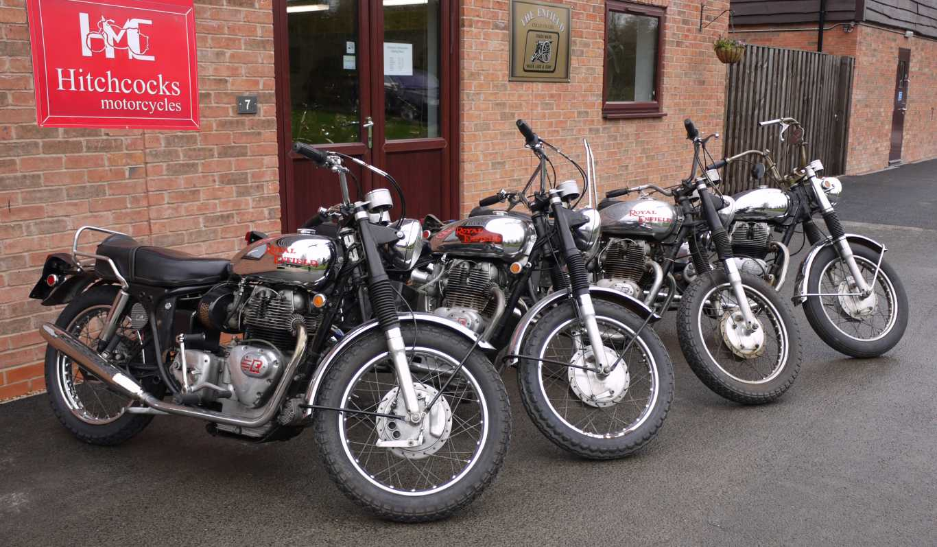 Royal Enfield Hitchcocks Motorcycles Spare Parts For Bullets