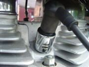 Chrome Spark Plug Cover